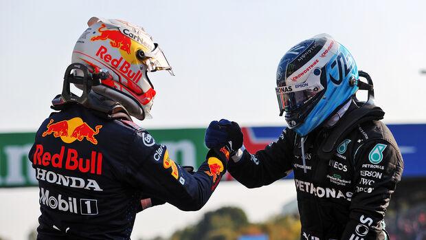 Verstappen & Bottas - Formel 1 - Monza - GP Italien - 11. September 2021