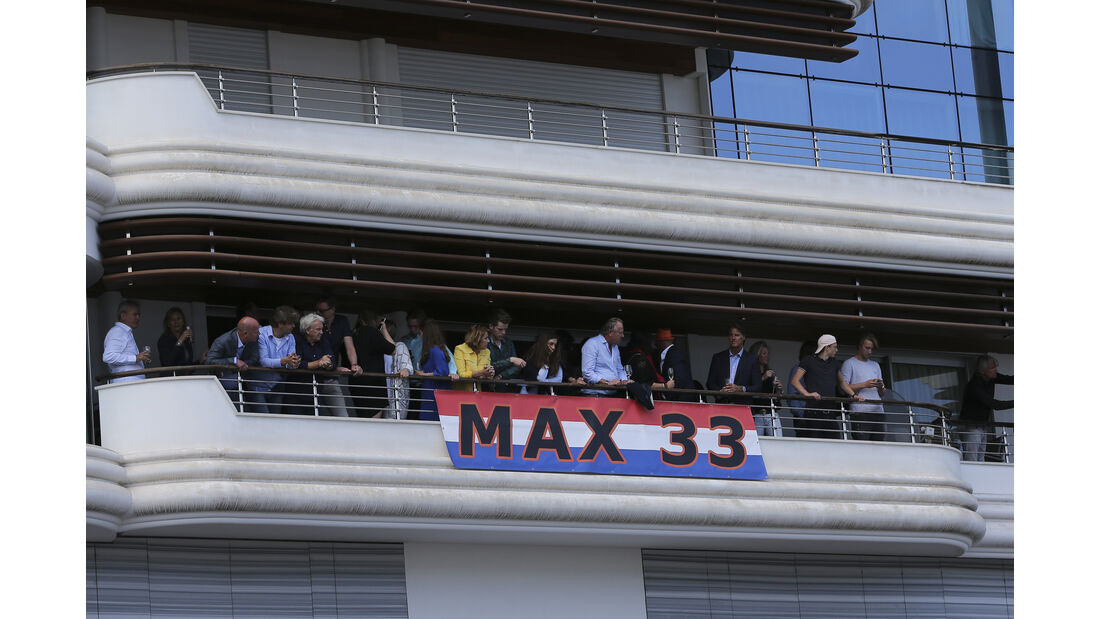 Verstappen-Fans - GP Monaco 2016