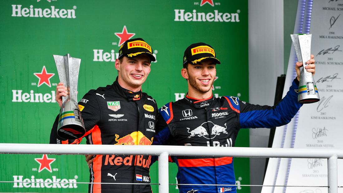 Verstappen & Gasly - GP Brasilien 2019