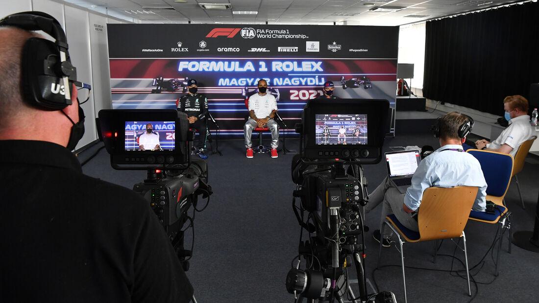 Verstappen - Hamilton - Bottas - Formel 1 - GP Ungarn - Budapest - Samstag - 31. Juli 2021