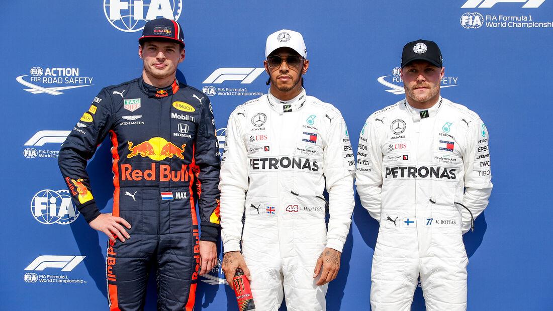 Verstappen - Hamilton - Bottas - GP Deutschland 2019 - Hockenheim - Qualifying