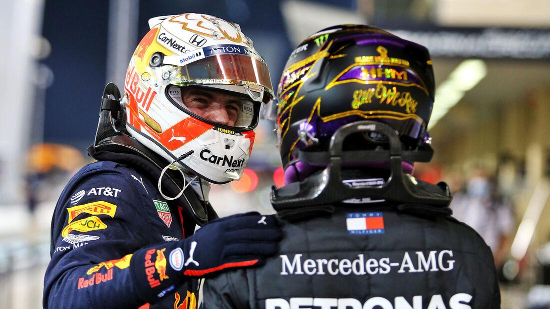 Verstappen - Hamilton - Formel 1 - GP Abu Dhabi - Samstag - 12.12.2020