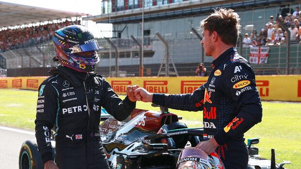 Verstappen & Hamilton - Formel 1 - GP England - Silverstone - 17. Juli 2021