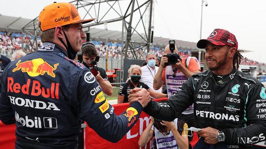 Verstappen & Hamilton - Formel 1 - GP Frankreich - Le Castellet - 19. Juni 2021