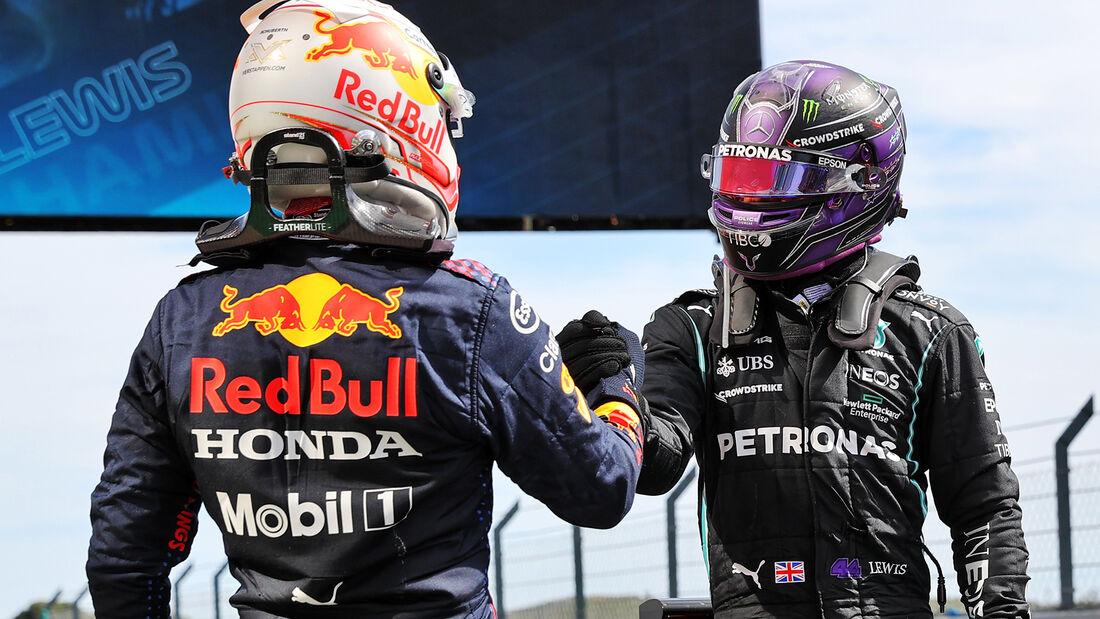 Verstappen & Hamilton - Formel 1 - GP Portugal 2021