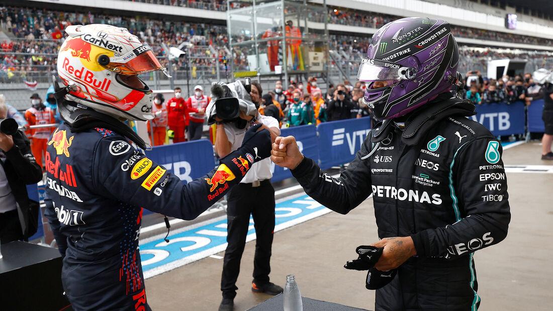 Verstappen & Hamilton - Formel 1 - GP Russland 2021