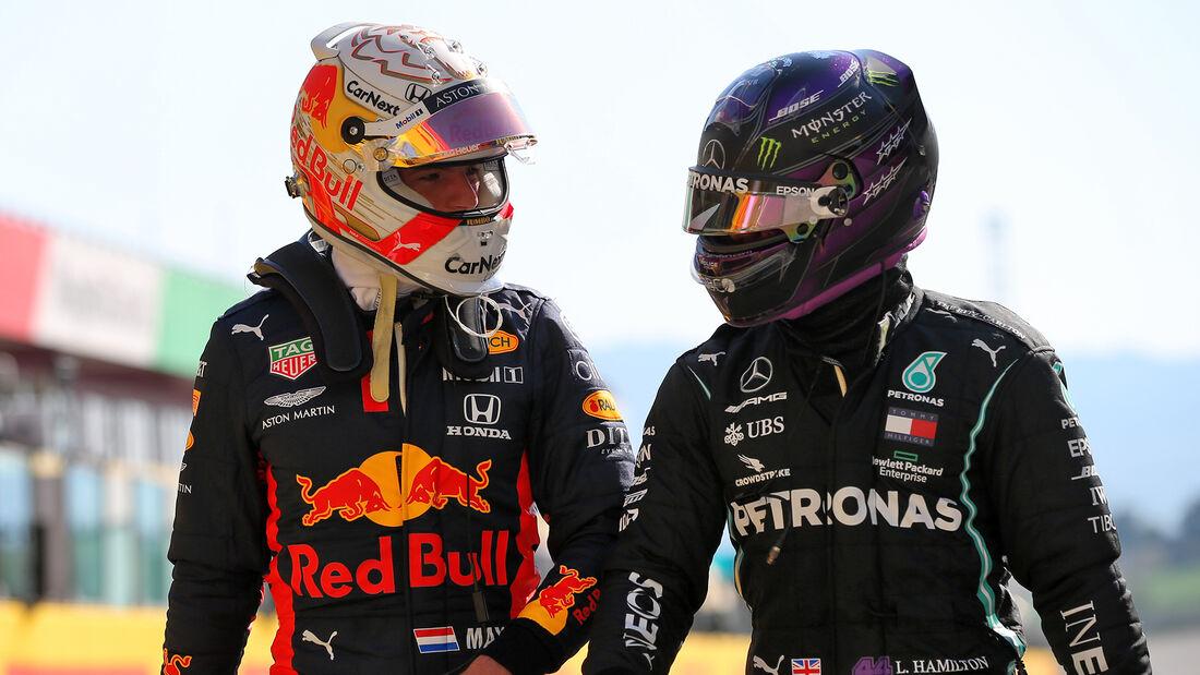Verstappen & Hamilton - Formel 1 - GP Toskana - Mugello - 2020