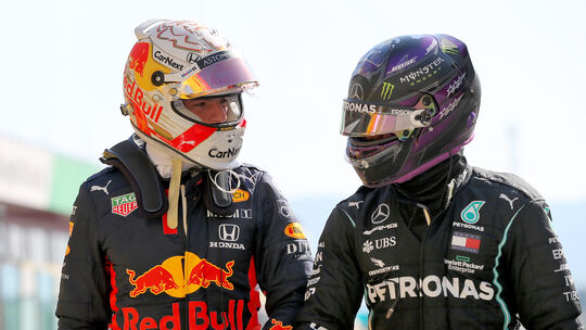 Verstappen & Hamilton - Formel 1 - Mugello - 2020