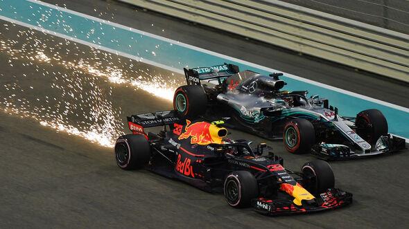 Verstappen & Hamilton - GP Abu Dhabi 2018