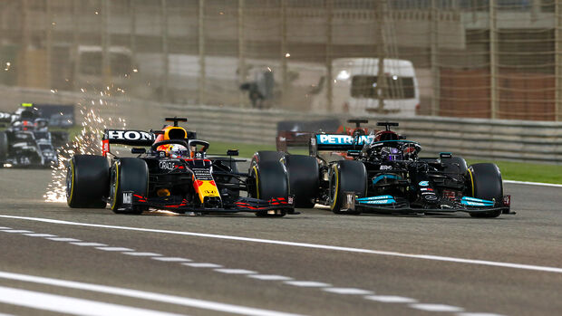 Verstappen & Hamilton - GP Bahrain - 2021
