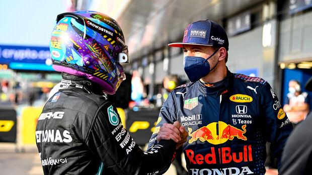 Verstappen & Hamilton - GP England - Silverstone  - Formel 1 - 16. Juli 2021