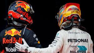 Verstappen & Hamilton - GP Malaysia 2017