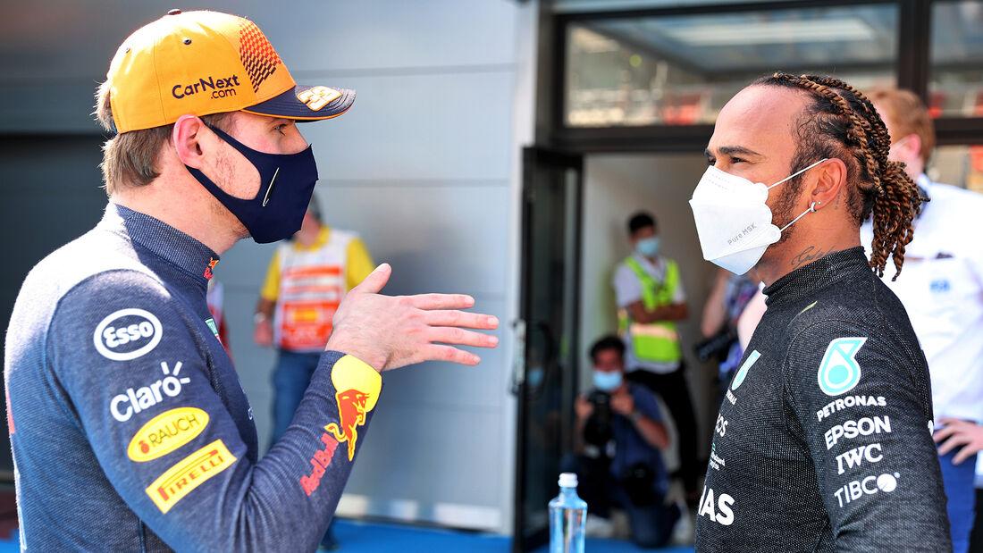 Verstappen - Hamilton - GP Spanien - Barcelona - Formel 1 - Samstag - 8.05.2021
