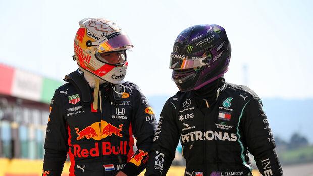 Verstappen & Hamilton - GP Toskana 2020