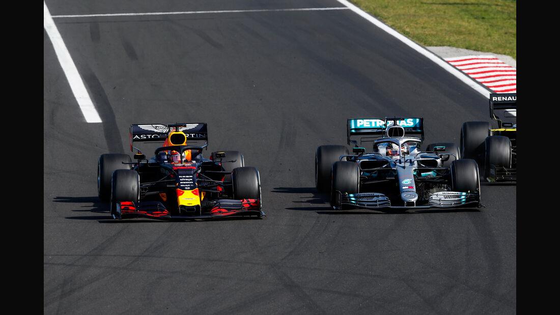 Verstappen -Hamilton - GP Ungarn 2019 - Budapest - Rennen