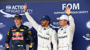 Verstappen - Hamilton - Rosberg - GP England - Silverstone - Qualifying - Samstag - 9.7.2016