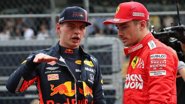 Verstappen & Leclerc - Formel 1 - GP Mexiko - 26. Oktober 2019