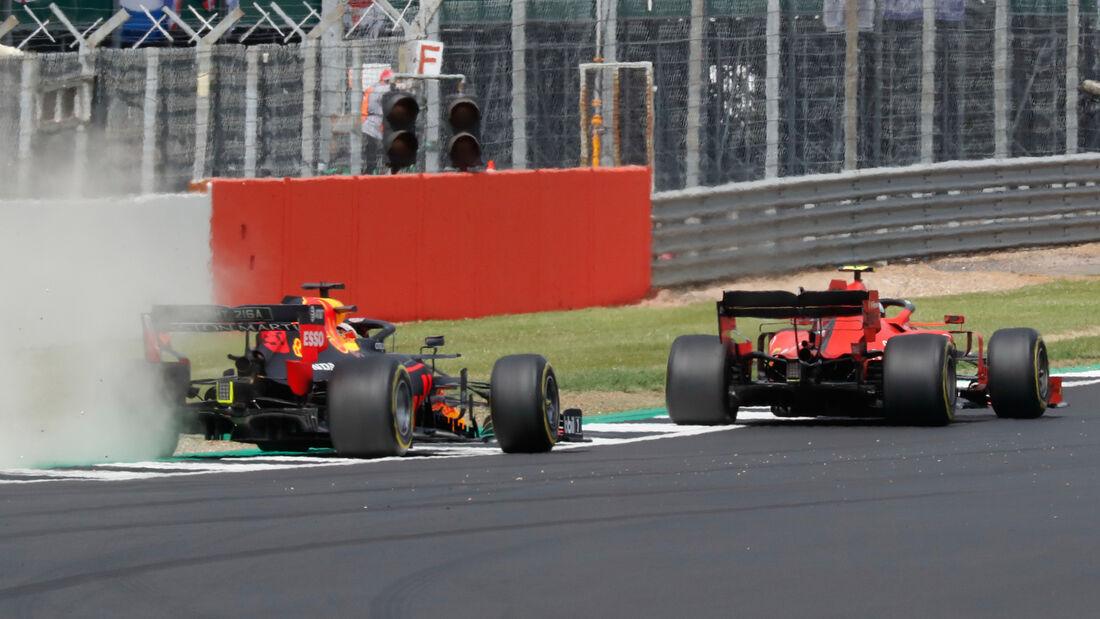 Verstappen - Leclerc - GP England 2019 - Silverstone