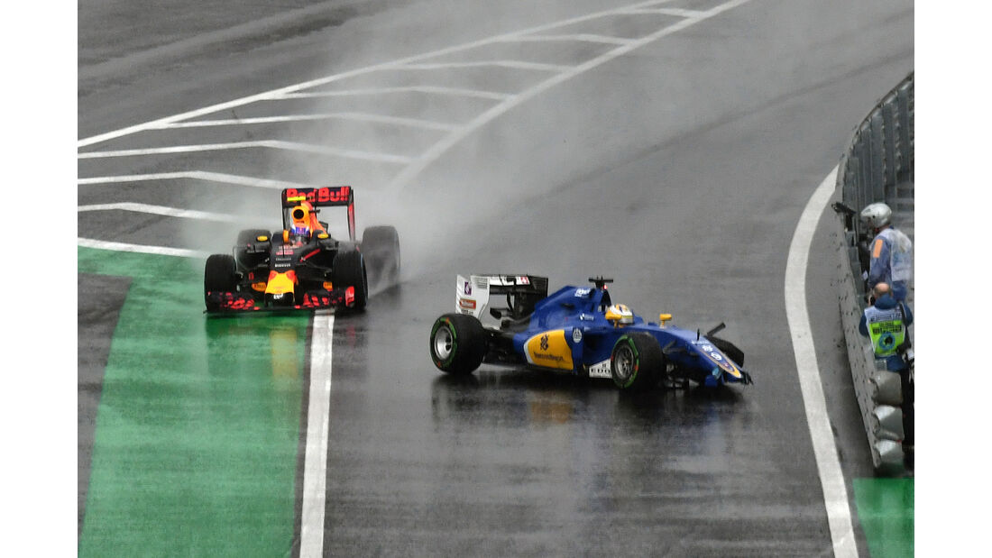 Verstappen & Nasr - GP Brasilien 2016