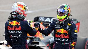 Verstappen - Perez - GP USA 2021 - Austin - Qualifikation