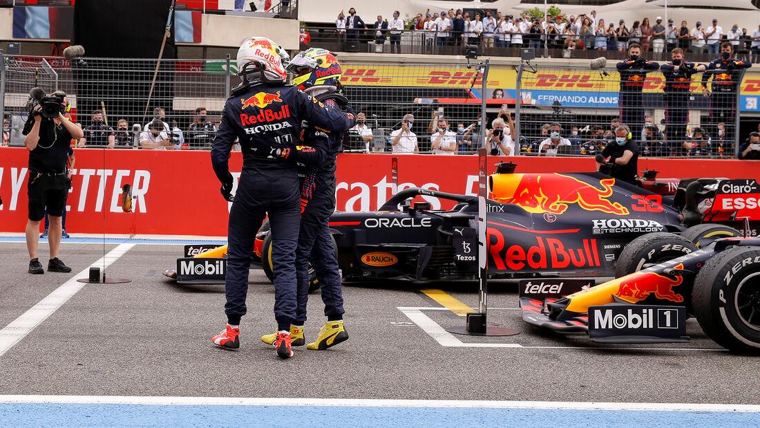 Verstappen & Perez - Red Bull - Formel 1 - GP Frankreich 2021