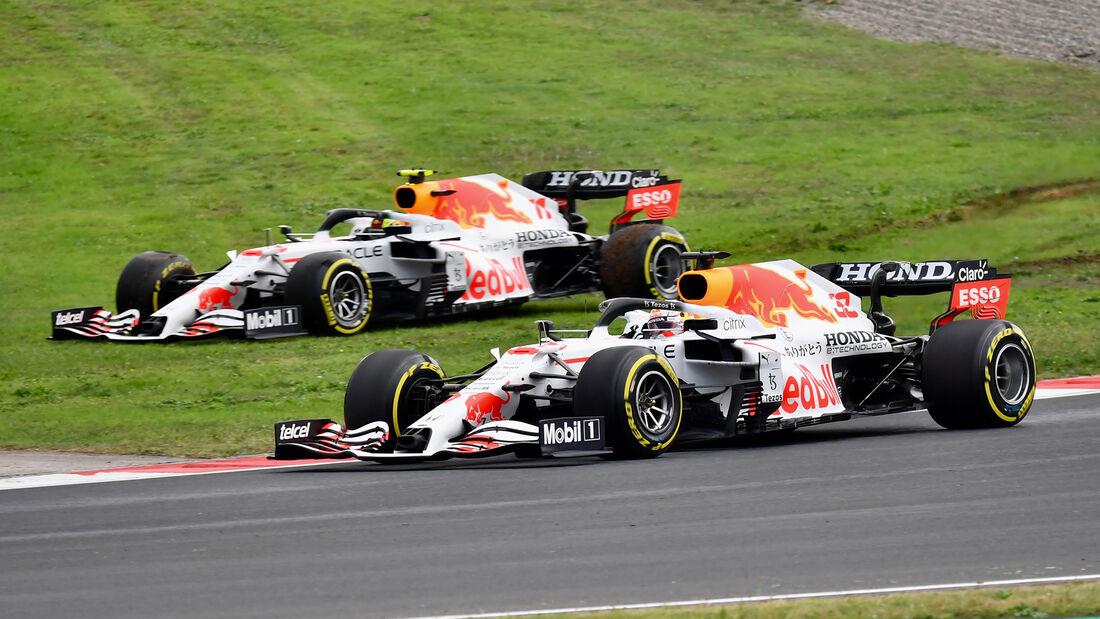 Verstappen & Perez - Red Bull - GP Türkei - Istanbul - Formel 1 - 9. Oktober 2021