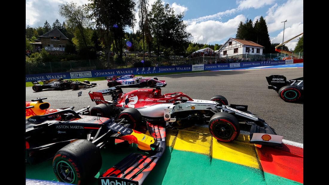 Verstappen - Räikkönen - GP Belgien 2019 - Spa-Francorchamps