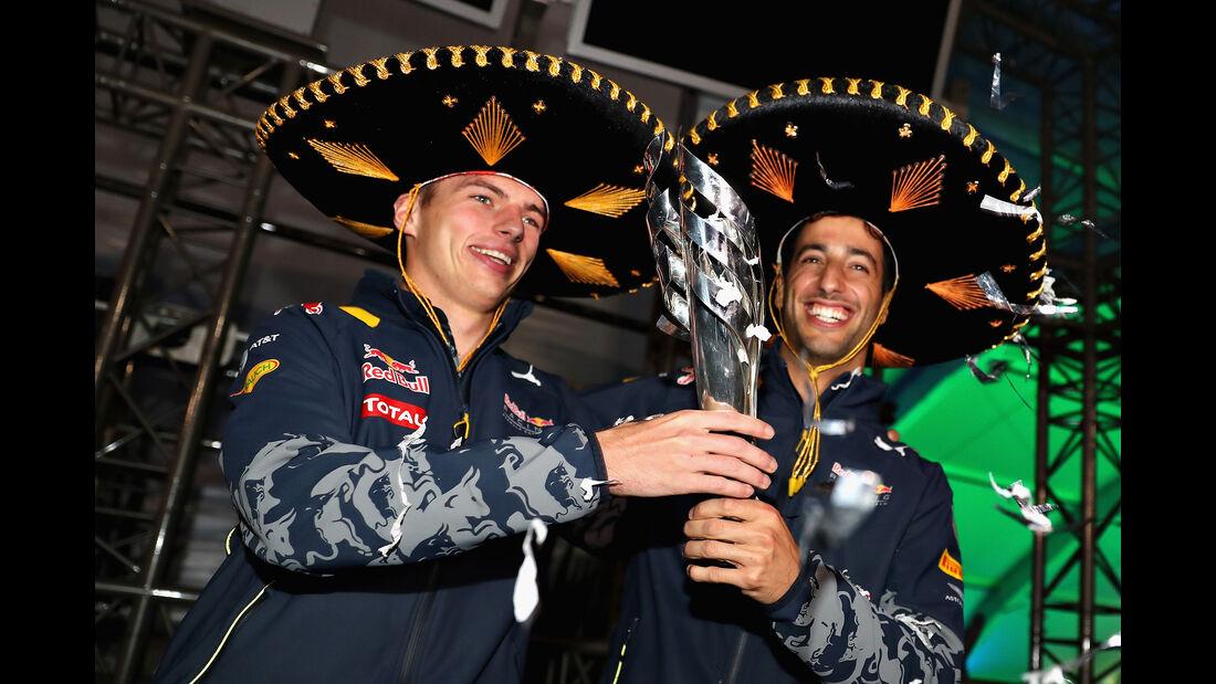 Verstappen & Ricciardo - GP Mexiko 2016