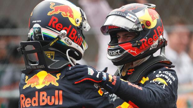 Verstappen & Ricciardo - Red Bull - GP Mexiko 201818