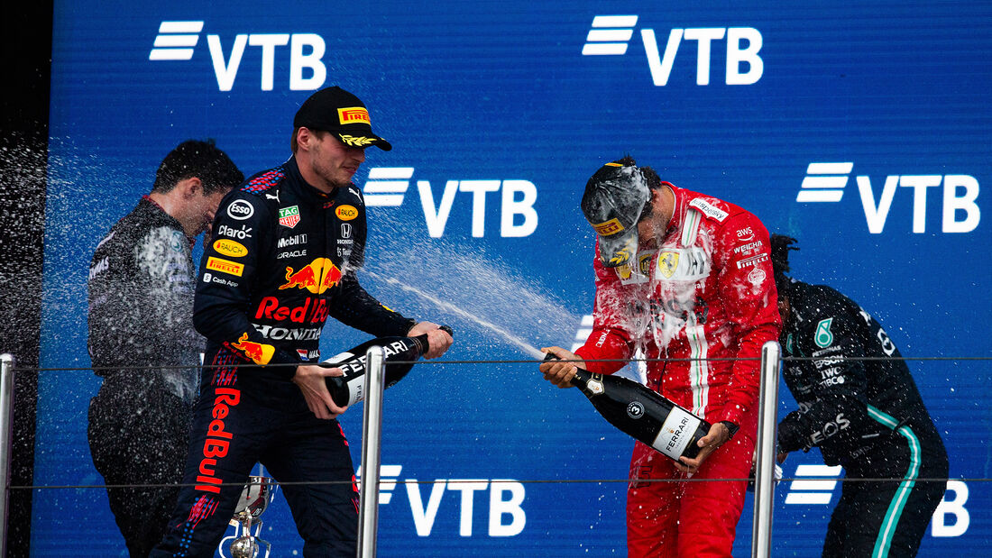 Verstappen - Sainz - GP Russland 2021 - Sotschi
