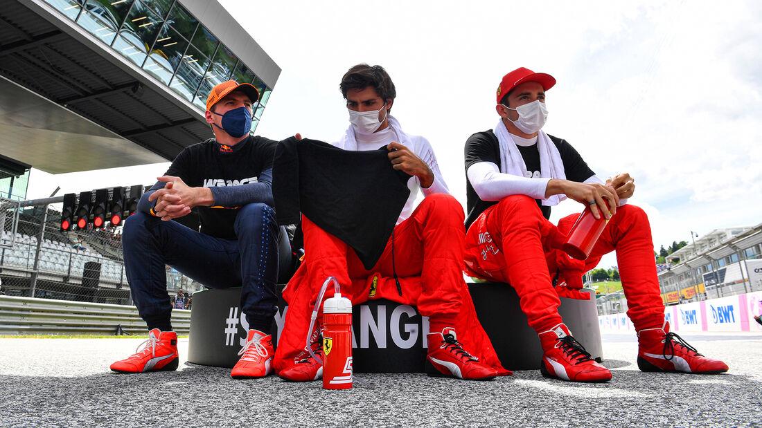 Verstappen, Sainz & Leclerc - Formel 1 - GP Steiermark - Spielberg - 27. Juni 2021