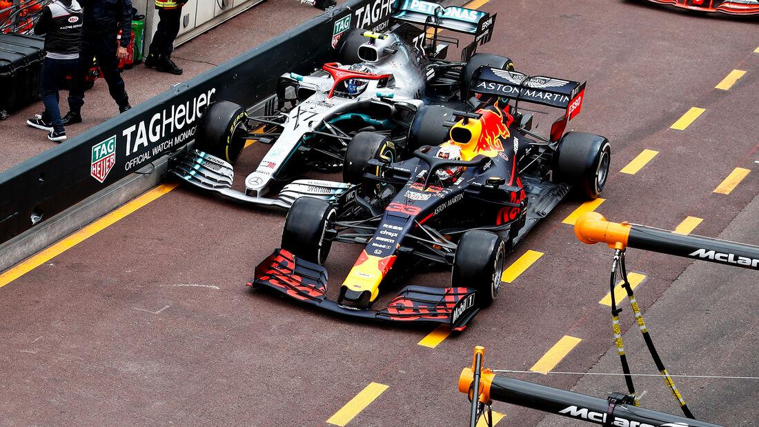 Verstappen vs. Bottas - GP Monaco 2019