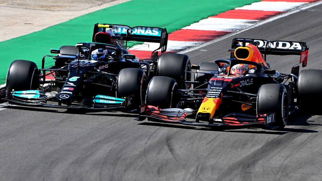 Verstappen vs. Bottas - GP Portugal 2021