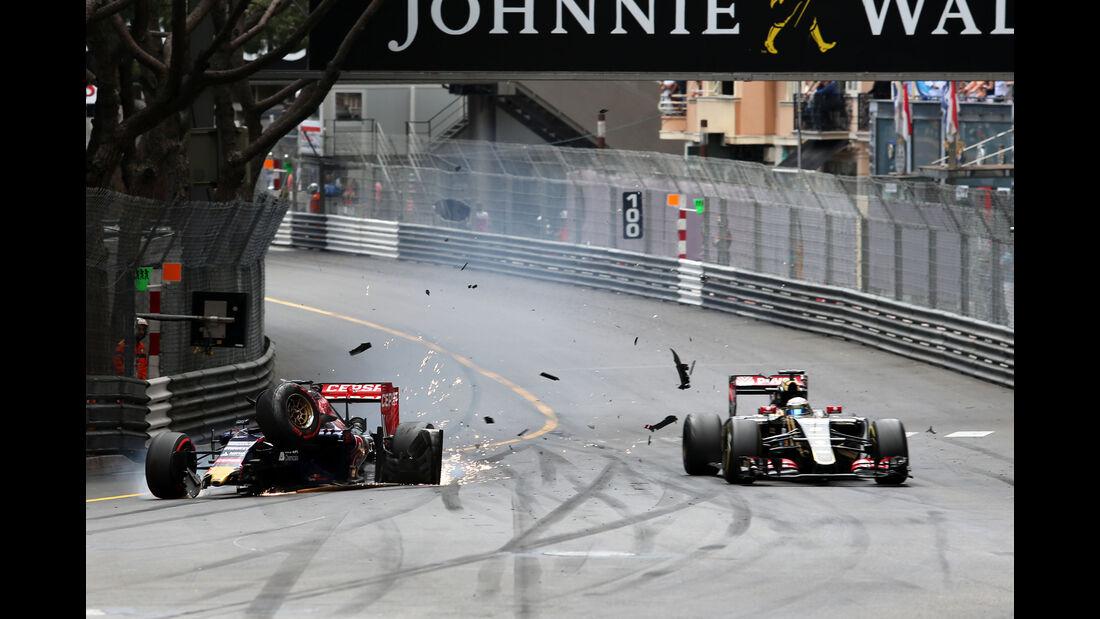 Verstappen vs. Grosjean - GP Monaco 2015