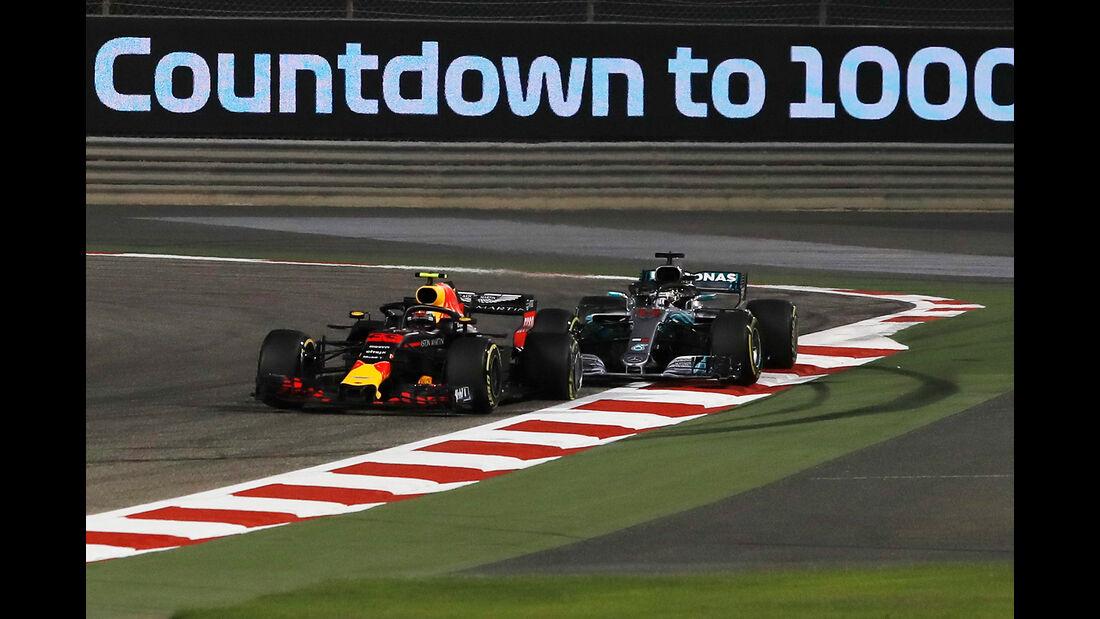 Verstappen vs. Hamilton - Formel 1 - GP Bahrain 2018