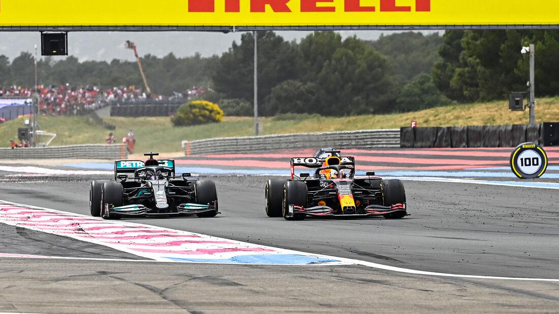 Verstappen vs. Hamilton - Formel 1 - GP Frankreich 2021