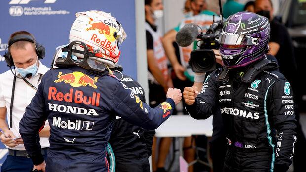 Verstappen vs. Hamilton - Formel 1 - GP Italien - Monza - 10. September 2021