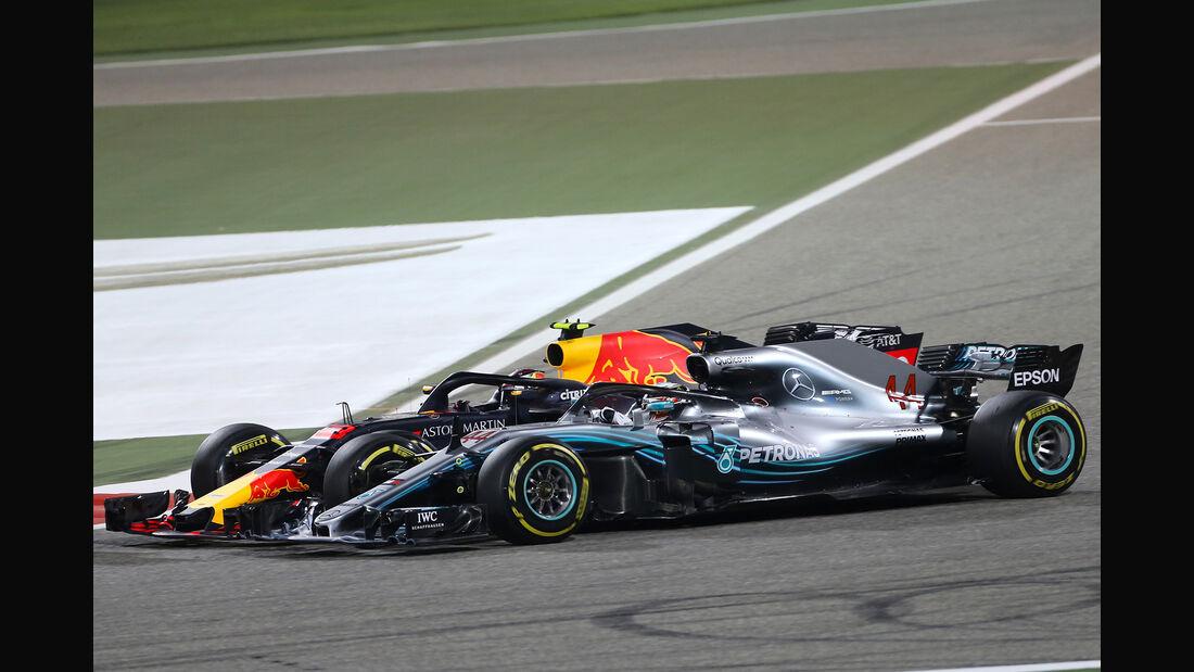Verstappen vs.Hamilton - GP Bahrain 2018