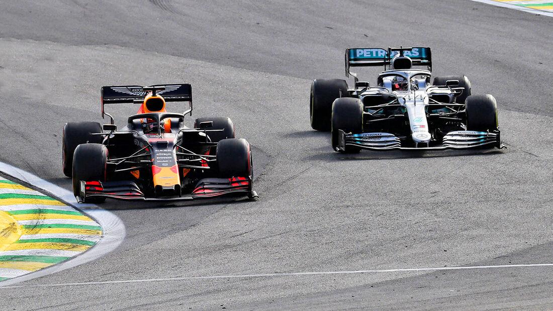 Verstappen vs. Hamilton - GP Brasilien 2019