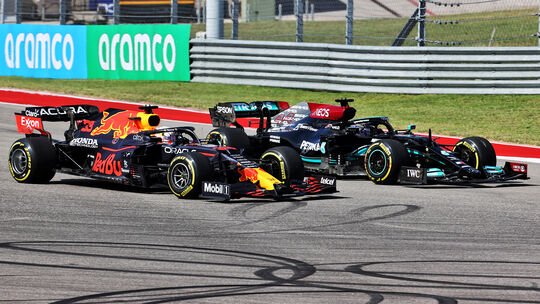 Verstappen vs. Hamilton - GP USA 2021