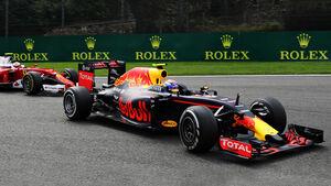 Verstappen vs. Räikkönen - GP Belgien 2016
