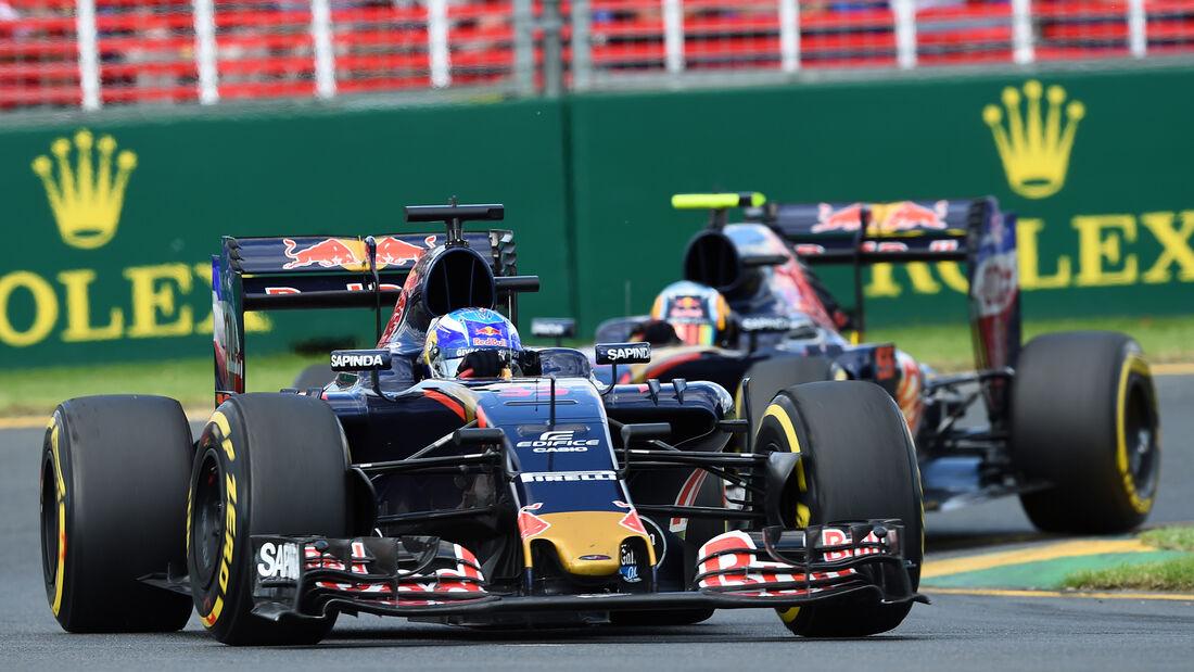 Verstappen vs. Sainz - GP Australien 2016