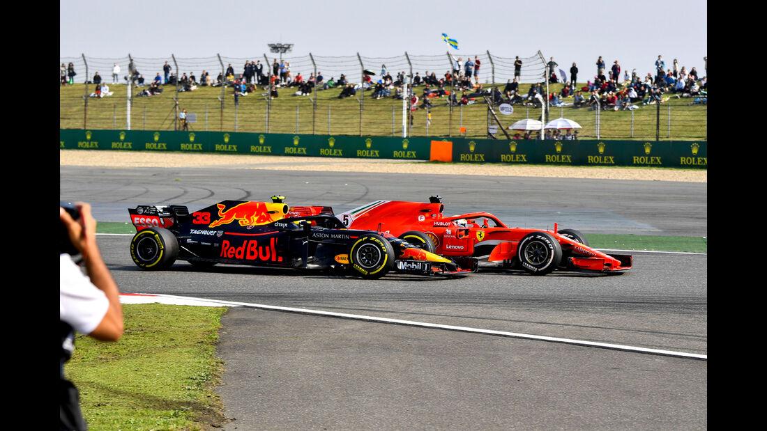 Verstappen vs. Vettel - Formel 1 - GP China 2018