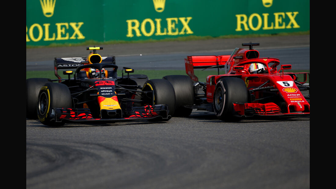 Verstappen vs. Vettel - Formel 1 - GP China 2018