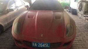 Versteigerung Ferrari 599, Polizei China