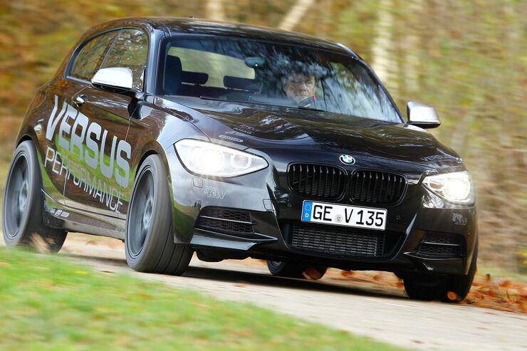 Versus-BMW M135i, Frontansicht