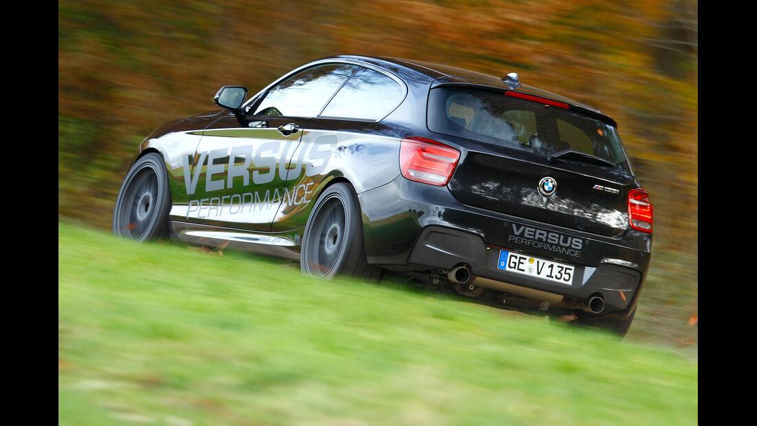 Versus-BMW M135i, Heckansicht