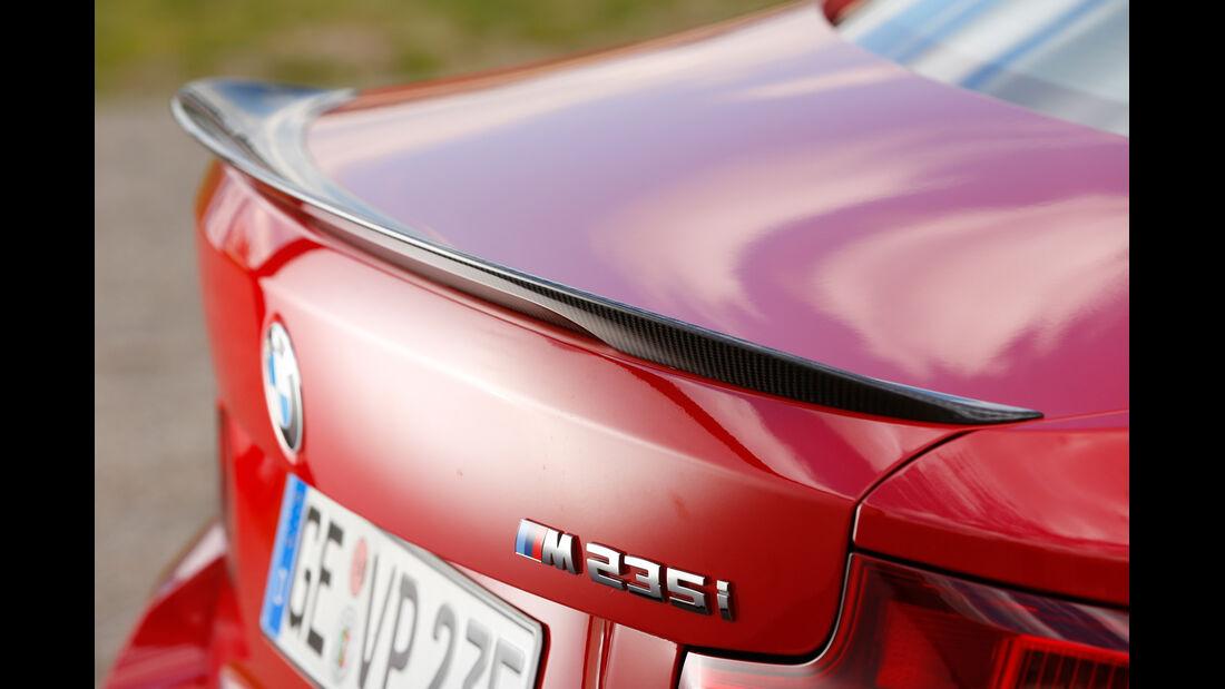 Versus-BMW M235i, Heckspoiler