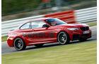 Versus-BMW M235i, Seitenansicht