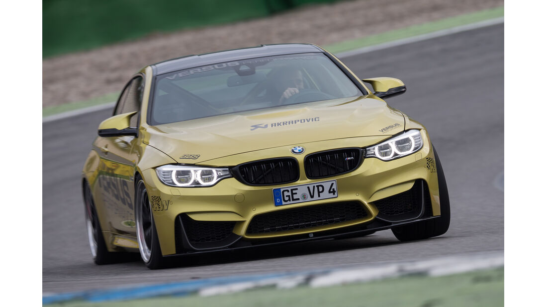 Versus BMW M4 Coupé, Frontansicht
